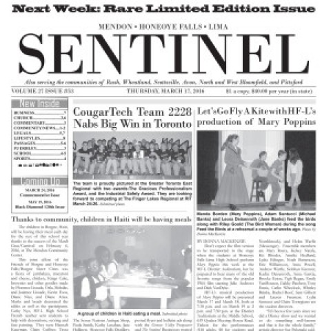 "First Mail Delivery of Famous ""Lost Edition"" of The Sentinel Confirmed in Lima!"