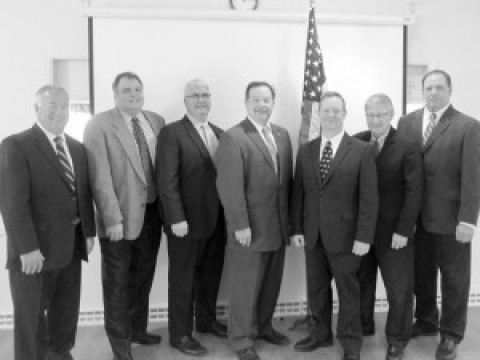 Mendon elected officials sworn into office