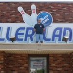 Miller Lanes Owner Brad Miller is on top of his business. Photo by Margaux Murray