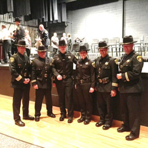 Two Livingston County deputies graduate from academy
