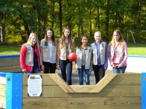 Girl Scouts earn Silver Award