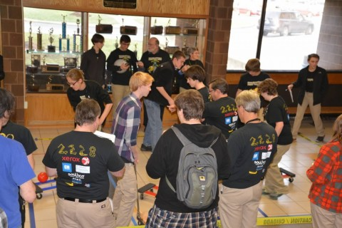 CougarTech Team 2228 Never Takes a Break!