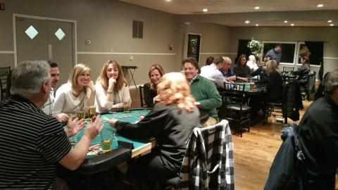 Residents have fun at Casino Night