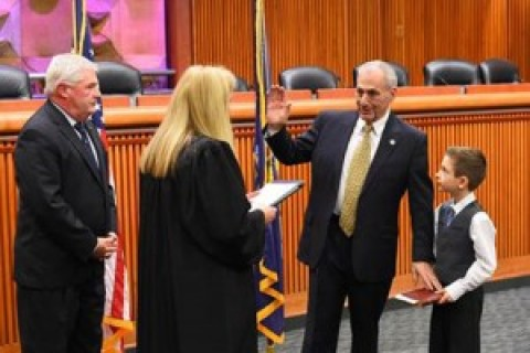Joe Errigo sworn in as state assemblyman