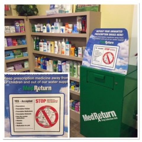 Lima Village Pharmacy has new med return unit