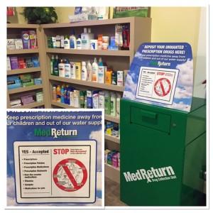 Lima Village Pharmacy has new med return unit
