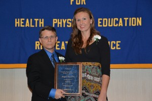 NYS AHPERD Honors Megan Mansfield with the Secondary Physical Education Teacher of the Year Award