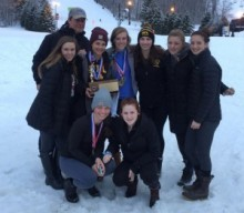HF-L Girls Alpine Ski team takes another sectional title