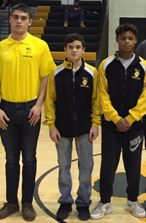 HF-L wrestlers bring home sectional titles
