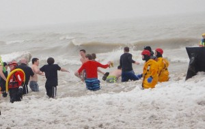 HFL students raised $3,000 in the Polar Plunge