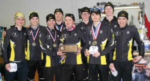 HF-L Nordic Skiers earn sectional titles