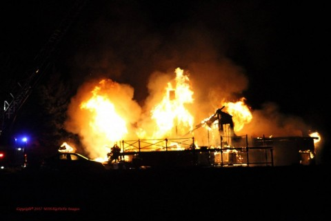 Two house fires keep area departments busy in last 3 weeks