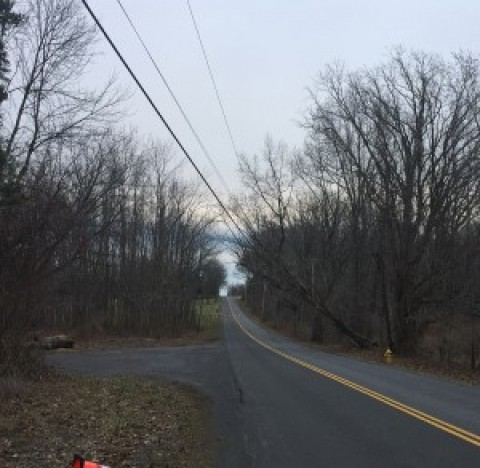 March winds roar through area leaving residents in the dark