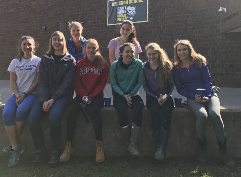 HF-L Green Team and Josh Landscaping Join Forces for 7th Annual Front Entrance Clean Up