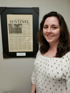 Logan Gee joins The Sentinel as an intern