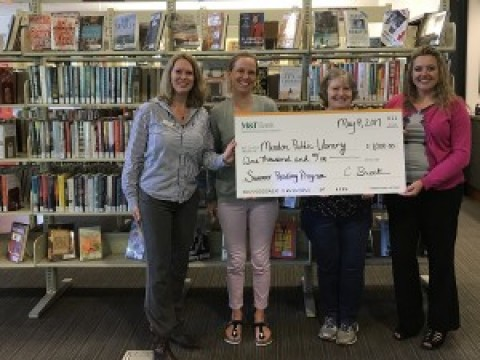 M&T Bank supports Mendon Public Library's Summer Reading 2017