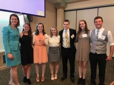 Dansville Teenager, a Junior at LCS, Named 2017 ESL Jefferson Award Winner
