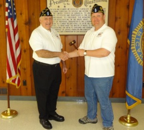 New commander for Falls Post #664