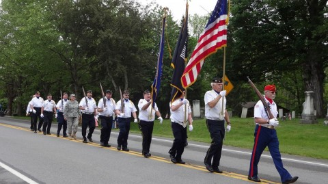 Falls Post #664 Legion marches in Memorial Day parades