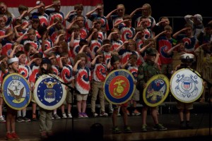 Manor second-graders show off knowledge of the U.S.