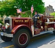 HFFD's Buffalo truck wins award at Rush Fire Department parade