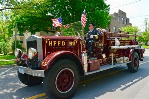 HFFD's Buffalo truck wins award at Rush Fire Department parade