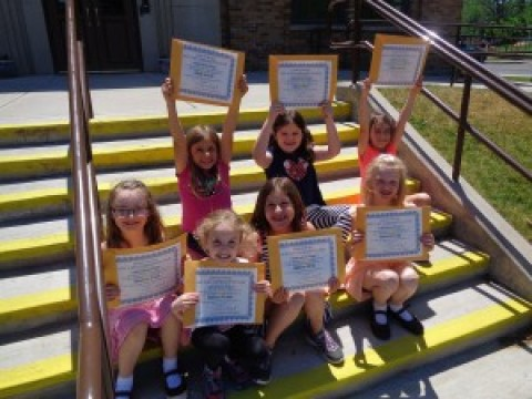 Lima Primary  first-graders honored