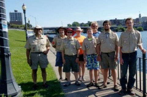Troop 10 paddlers complete journey
