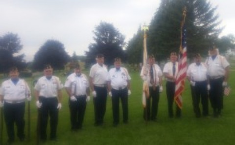 Falls Post Legion gives final salute to veteran