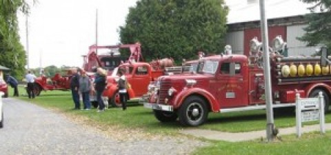 Antique fire trucks kick off Fall Foliage Trolley Rides September 17