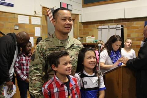 TJ Connor Elementary in Scottsville Honors Veterans