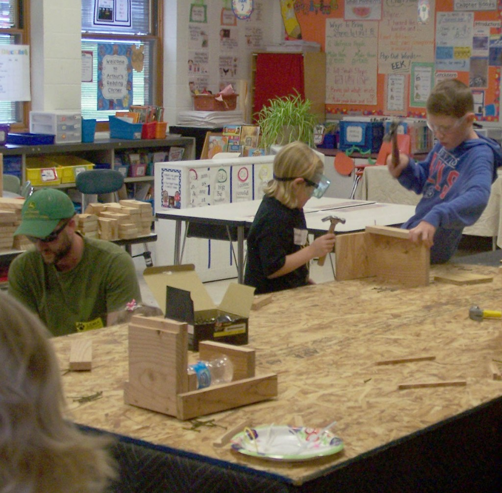 Students make and explore at Lima Maker Faire
