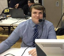 HF-L Alum in Bowl Game Broadcast Booth