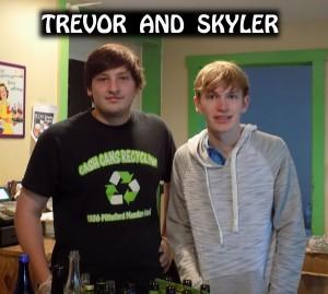 Skyler Smith's Tour of Mendon: CASH CANS