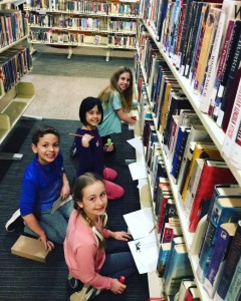 Nancy Drew Mystery Night Draws 20+ Young Investigators to Mendon Public Library