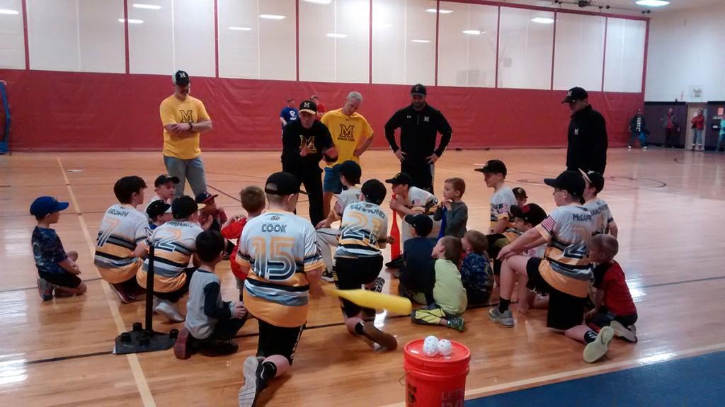 Mendon Storm baseball held skills clinic