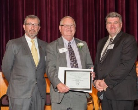 Bruce Mayer honored as Town of Lima  Senior Citizen of the Year