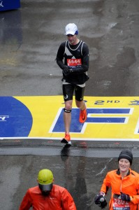 Scottsville Runner Finishes the Boston Marathon