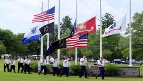 Honeoye Falls  honors military veterans on Memorial Day