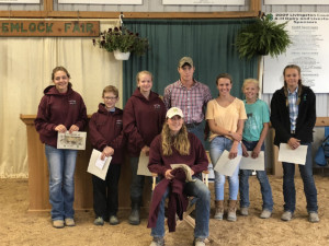 Melanie Calhoun earns awards at Hemlock Fair
