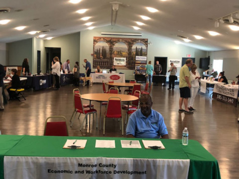 Job Fair in Mendon draws applicants