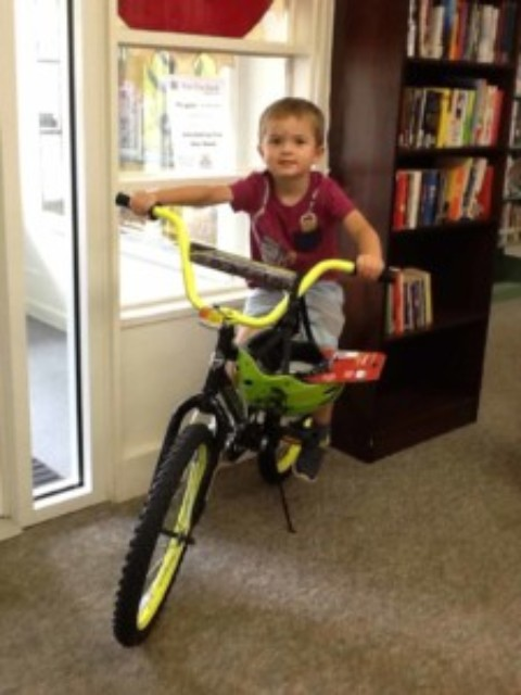 Lima Library announces bicycle winners