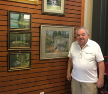 "Local Artist Henry ""Hank"" Besanceney Displays Pastels"