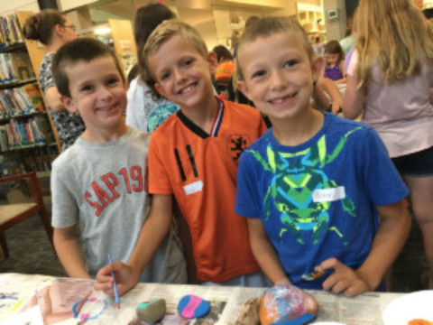 """Libraries Rock!"" rocked Mendon Library as Part of Summer Reading 2018"