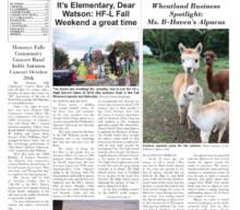 October 18, 2018 Issue of <em>The Sentinel</em>
