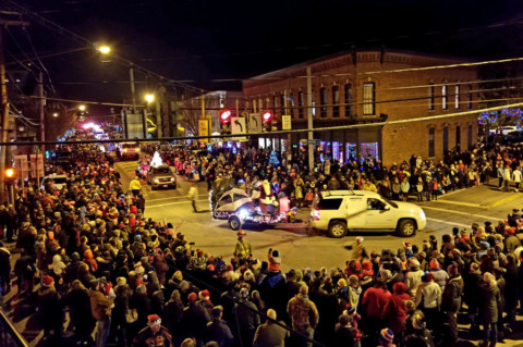 HFFD Christmas parade enchants crowd