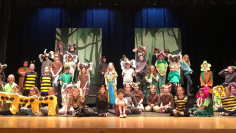 HF-L Manor students swing through  Disney's Jungle Book Kids February 6 and 7