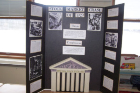 HF-L Middle School students showcase History Day projects