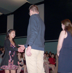 HF-L High welcomes 54 new members into National Honor Society