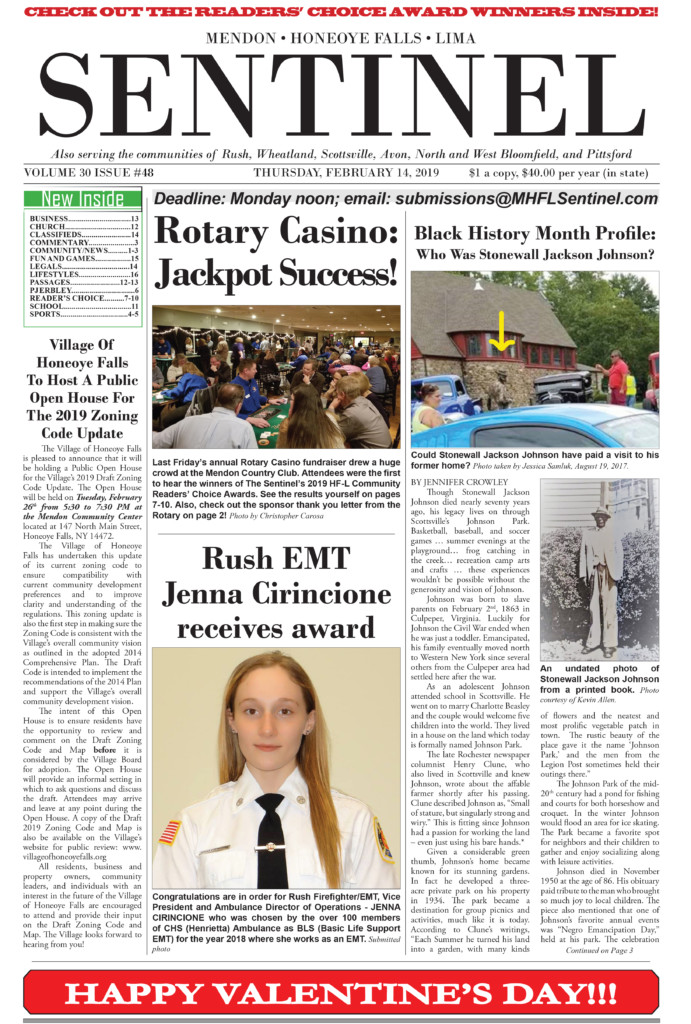 ee0badbd72d ... Sentinel 2 months ago. Take a look at this week s front page.  Subscribers who have paid on-line may view the entire issue for free by  clicking here.